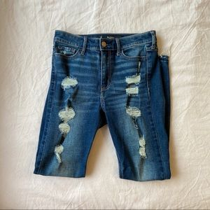 High rise Hollister skinny jeans!